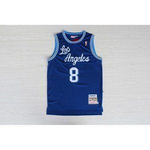 Los Angeles Lakers #8 Kobe Bryant Blue Jersey